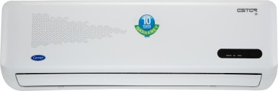 Carrier 1 Ton 3 Star BEE Rating 2018 Inverter AC  - White(12K ESTER INVERTER/CAI12ES3C8F0, Copper Condenser)