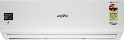 View Whirlpool 1.5 Ton 3 Star BEE Rating 2018 Inverter AC  - White(1.5T Magicool Inverter 3S Copr, Copper Condenser)  Price Online