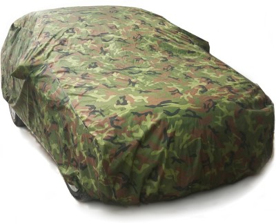 Bull Rider Car Cover For Chevrolet Beat (With Mirror Pockets)(Multicolor)