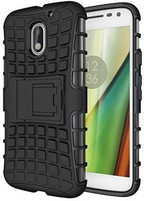 Snoogg Back Cover for Motorola Moto E3 Power(Black, Hard Case, Plastic)