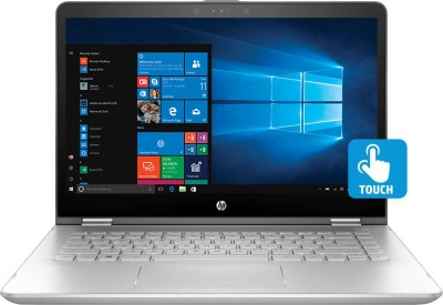 HP x360 Core i5 7th Gen - (8 GB/1 TB HDD/8 GB SSD/Windows 10 Home/2 GB Graphics) 14ba073TX 2 in 1 Laptop(14 inch, SIlver, 1.72 kg)