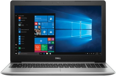 Dell Inspiron 15 5000 Core i5 8th Gen - (8 GB/2 TB HDD/Windows 10 Home/4 GB Graphics) 5570 Laptop(15.6 inch, Platinum SIlver, 2.2 kg, With MS Office)