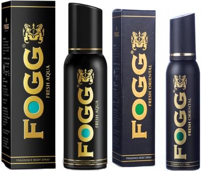 Buy Fogg Fresh Oriental Fragrance Body Spray Fresh Aqua Fragrance
