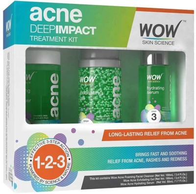 WOW Skin Science ACNE Deep Impact Kit