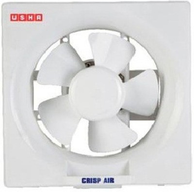 Usha Crisp Air 200mm 5 Blade Exhaust Fan(White)  available at flipkart for Rs.1199