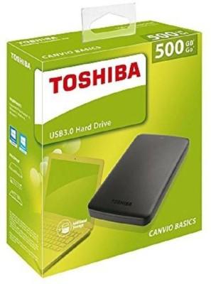 Toshiba External 500GB 3.5 USB Hard Disk(For Ch, Black)