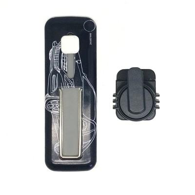 Smiledrive Smart Phone Finger Grip Holder, Universal Mobile Stand Car Mount Holder – Fits all Phones Mobile Holder