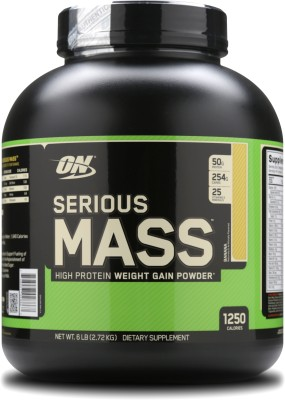 Optimum Nutrition Serious Mass Weight Gainers/Mass Gainers(2.72 kg, Banana)  available at flipkart for Rs.2780