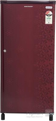 Kelvinator 190 L Direct Cool Single Door 1 Star Refrigerator(Geometry Red, KW203EFYR/G)