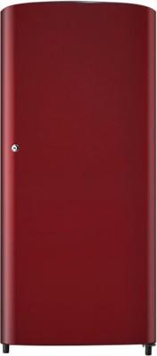 Samsung 192 L Direct Cool Single Door 1 Star Refrigerator(Scarlet Red, RR19J20A3RH)