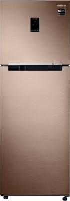 Samsung 345 L Frost Free Double Door 3 Star Convertible Refrigerator Refined Bronze, RT37M5538DP/HL