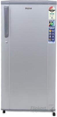 Haier 181 L Direct Cool Single Door 3 Star Refrigerator(Moon Silver, HRD-1813BMS-R/E)