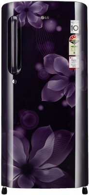 LG 190 L Direct Cool Single Door Refrigerator(GL-B201APOX, purple orchid, 2017)