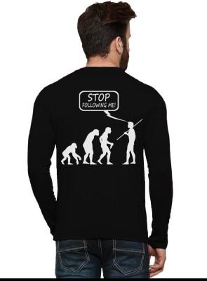 4e00c8a56d 60% OFF on Tripr Printed Men Round Neck Black T-Shirt on Flipkart |  PaisaWapas.com