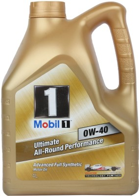 MOBIL1 0W-40 Advanced Fully Synthetic Motor Oil(4 L)