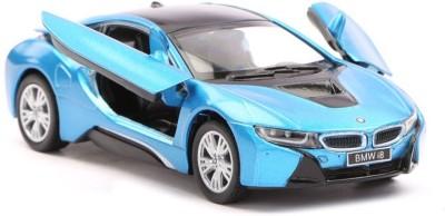 "Kinsmart 5\"" 1:36 Scale BMW I8 Die-Cast Model Car from Flying Toyszer(Blue)"