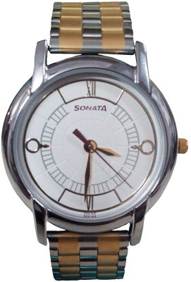 Sonata 7954bm01  Analog Watch For Men
