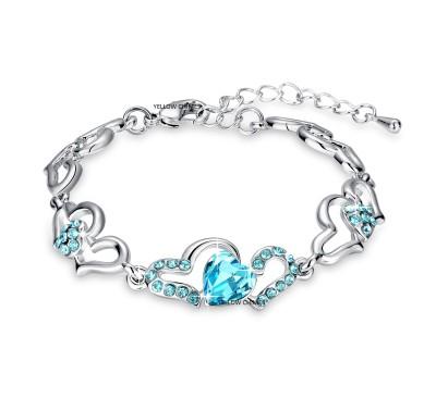 Divastri Metal Rhodium Bracelet