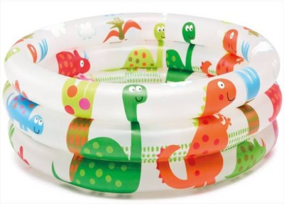 PRESENTSALE Bath Toys Baby Water Tub Inflatable Pool 2 ft Bath Toy(Multicolor)