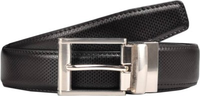 ASF Men Casual, Formal Black, Brown Synthetic, Artificial Leather Reversible Belt