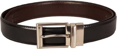 ASF Men Formal, Casual Black, Brown Synthetic, Artificial Leather Reversible Belt
