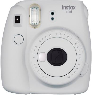 Fujifilm Instax Mini 9 Joy Box Instant Camera Plus Twin Film Pack Plus Carry Case Plus Photo Frames And Albums Instant Camera(White) 1