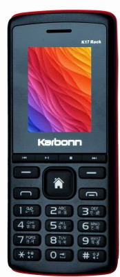 Karbonn K17 Rock(Black & Red)