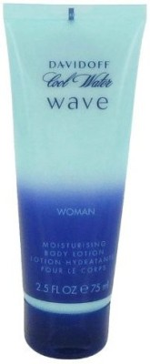 Davidoff Cool Water Wave By Women'S Body Lotion 100% Authentic(73.94 ml)