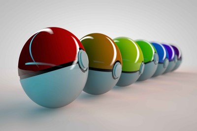 Exclusive AZOHP3842 Pokemon Balls Full HD Poster Latest Best New 3D Look Beautiful Paper Print(12 inch X 17 inch, Rolled in Tube)  available at flipkart for Rs.299