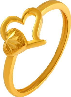 PC Chandra Jewellers 22kt Yellow Gold ring