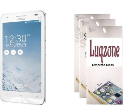 LUQZONE Tempered Glass Guard for Asus PadFone X Tempered Glass Transparent High Quality