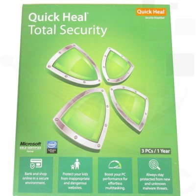 Quick Heal Total Security 3PCs / 1 Year
