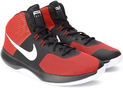 Nike AIR PRECISION Basketball Shoes For Men(Red, Black) 1