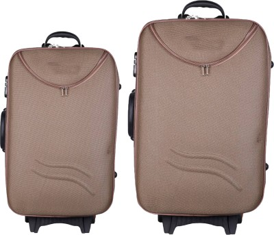 770d9a38f 29% OFF on AKSHAT Multicolor Softsided Set Of 2 24+20 Inch Check-In ...