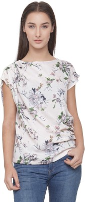 Ans Fab Casual Short Sleeve Floral Print Women