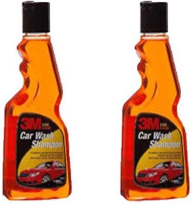 3M CWS 250ML Pack of 2 Car Washing Liquid 500 ml 3M Vehicle Washing Liquid