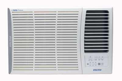 Voltas 1.5 Ton 3 Star BEE Rating 2018 Split AC  - White(183 JZJ, Copper Condenser)