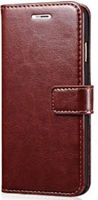 Splenor Flip Cover for Lenovo Vibe K5 Plus(Brown, Artificial Leather)