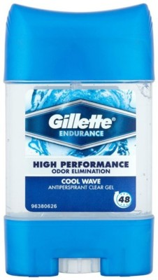 Gillette Endurance Cool Wave Clear Gel Deo Stick Deodorant Stick - For Men Deodorant Stick  -  For Men(107 ml)  available at flipkart for Rs.515