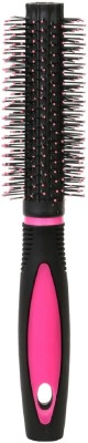 Tiamo Round plastic handle Hairbrush for grooming and daily styling..