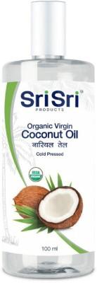Sri Sri Organic Virgin Coconut Oil Hair Oil(100 ml)  available at flipkart for Rs.150
