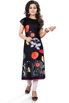 c1c0740e4b4df Ashda Fashion Casual Self Design Women s Kurti(Multicolor)