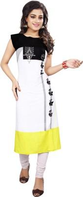 e8d1dddc91 Ashda Fashion Casual Self Design Women s Kurti(Multicolor)