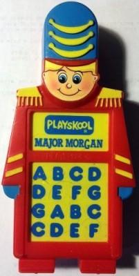 Playskool Major Morgan The Electric Organ Toy Vintage 1989(Multicolor)
