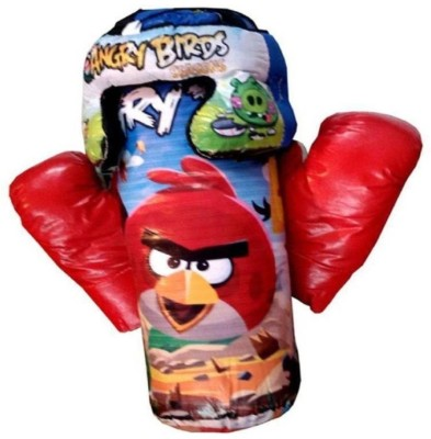 Royal Collections Angry Bird Boxing Kit With Gloves & Head Guard (Multicolor)(Multicolor)