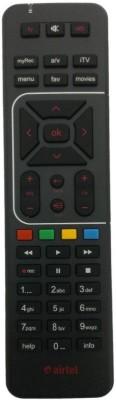 Airtel Sprik Airt 01 Airtel Remote Controller Black