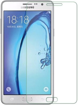 Vibhur Tempered Glass Guard for Samsung Galaxy On7(Pack of 1)