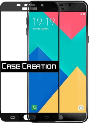Case Creation Tempered Glass Guard for Samsung Galaxy A7 (2016) Duos(Pack of 2)