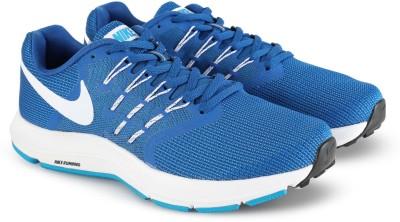 Nike RUN SWIFT Running Shoes For Men(Blue, White) 1