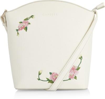Caprese White Sling Bag